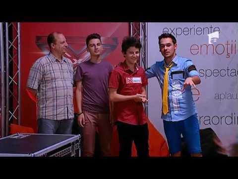 Satmareanul Bogdan Bratis se califica la X Factor VIDEO