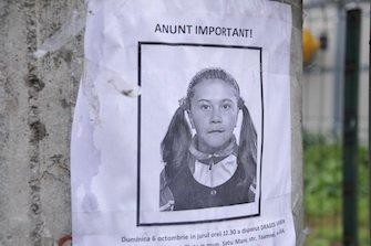 Apel pentru participarea la cautarea fetitei disparute. Sambata dimineata la ora 9
