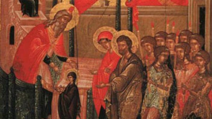Intrarea Maicii Domnului în Biserică. Tradiţii şi obiceiuri de 21 noiembrie