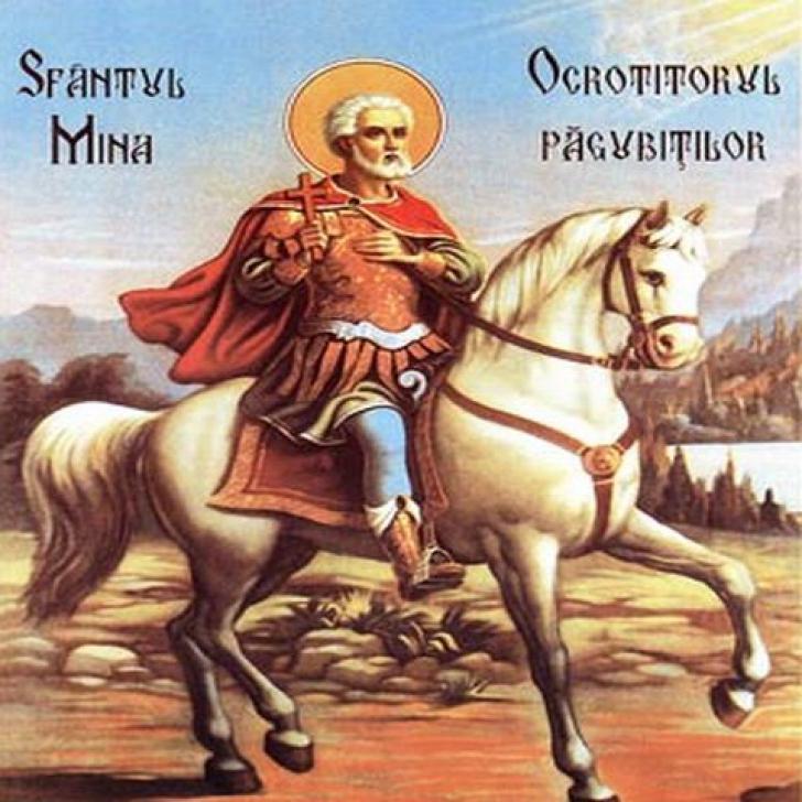SFÂNTUL MINA. Ziua de 11 noiembrie este numită şi ZIUA TÂLHARILOR