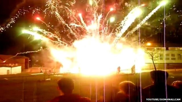 Video EXTREM: Colectia de Artificii de Revelion care au mers prost