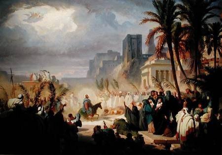 Duminica Floriilor si profetia lui Zaharia