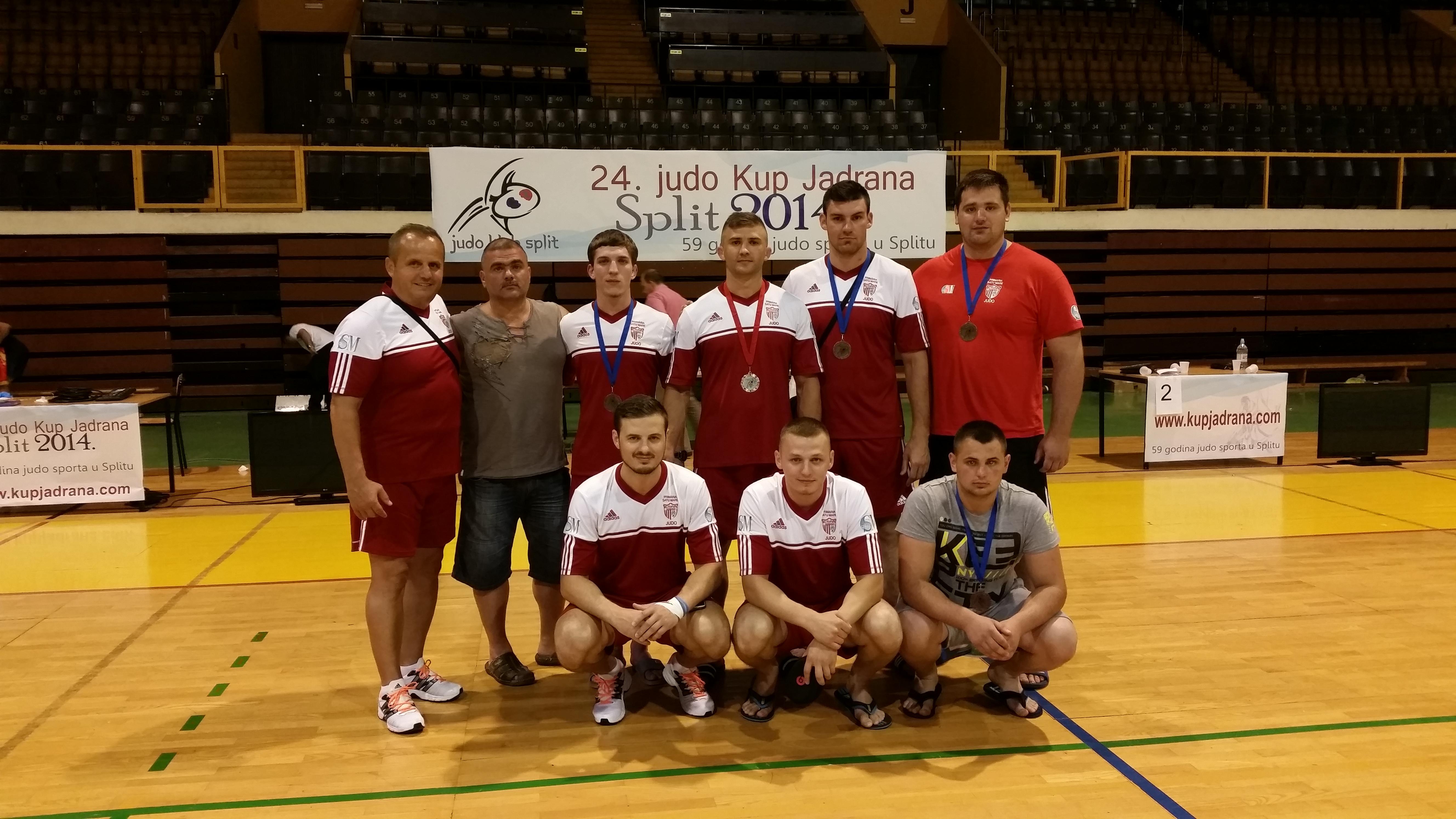 Patru medalii pentru CSM Satu Mare la Turneul International de Judo de la Split