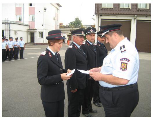 Avansari in grad a cadrelor militare de la ISU Somes Satu Mare