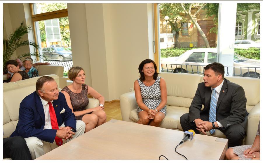 Campioana Mondială, Zita Funkenhauser în vizită la Satu Mare