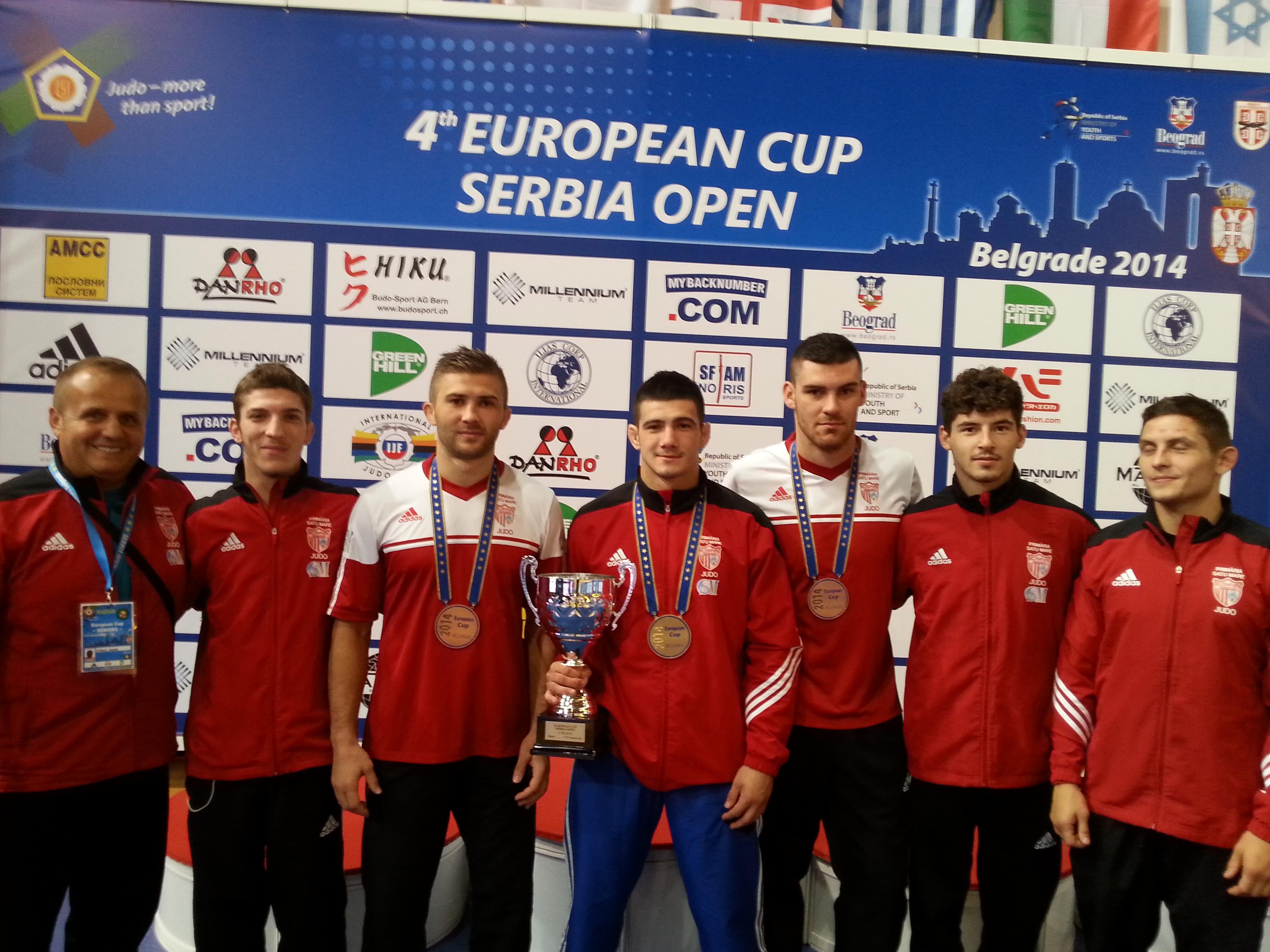 Rezultate de excepție pentru CSM Satu Mare la Cupa Europei la judo seniori