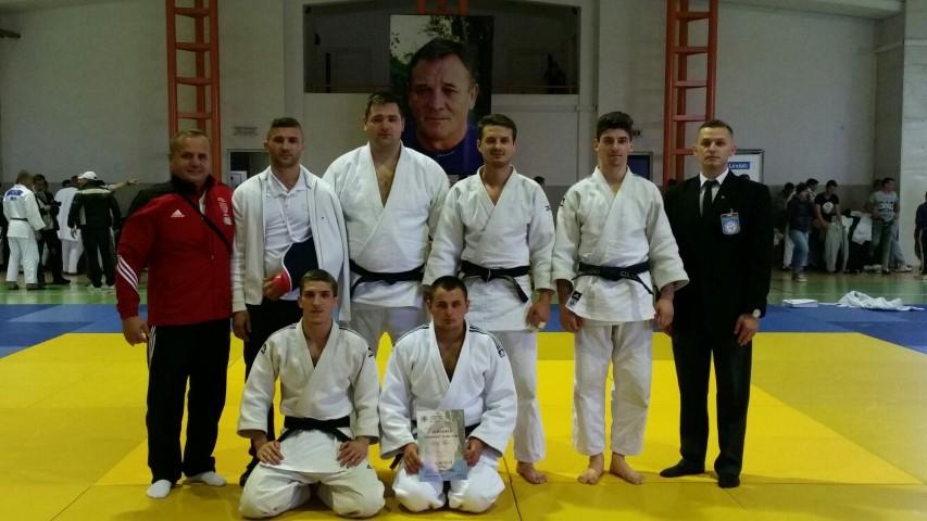 """Locul II pentru judoka de la CSM Satu Mare, la Memorialul """"Ștefan Vodă"""" de la Cluj-Napoca"""