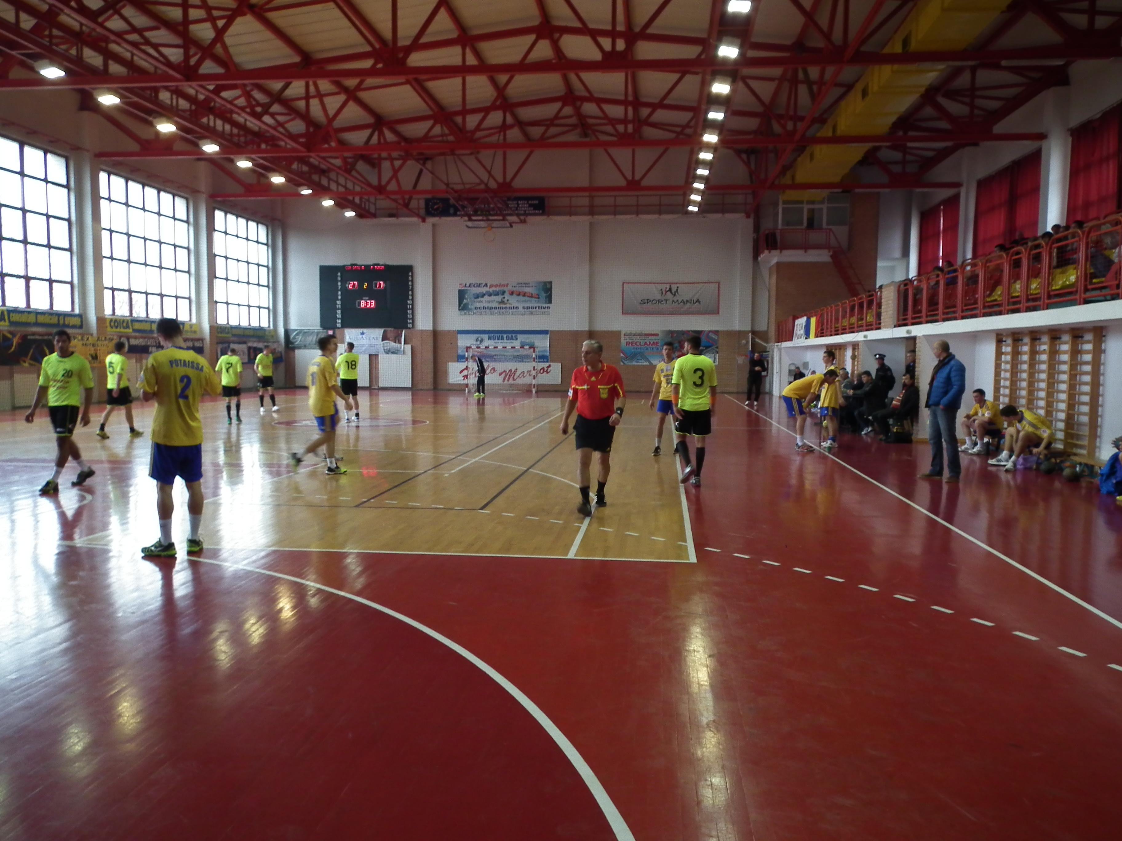 Handbal: CSM Satu Mare-Potaissa II Turda 43-30