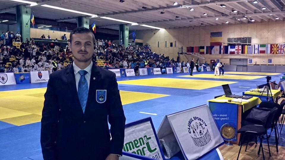 Judoka de la CSM Satu Mare, Vasile Fușle jr. va arbitra în cadrul Campionatelor Europene de Tineret U 23 din Polonia