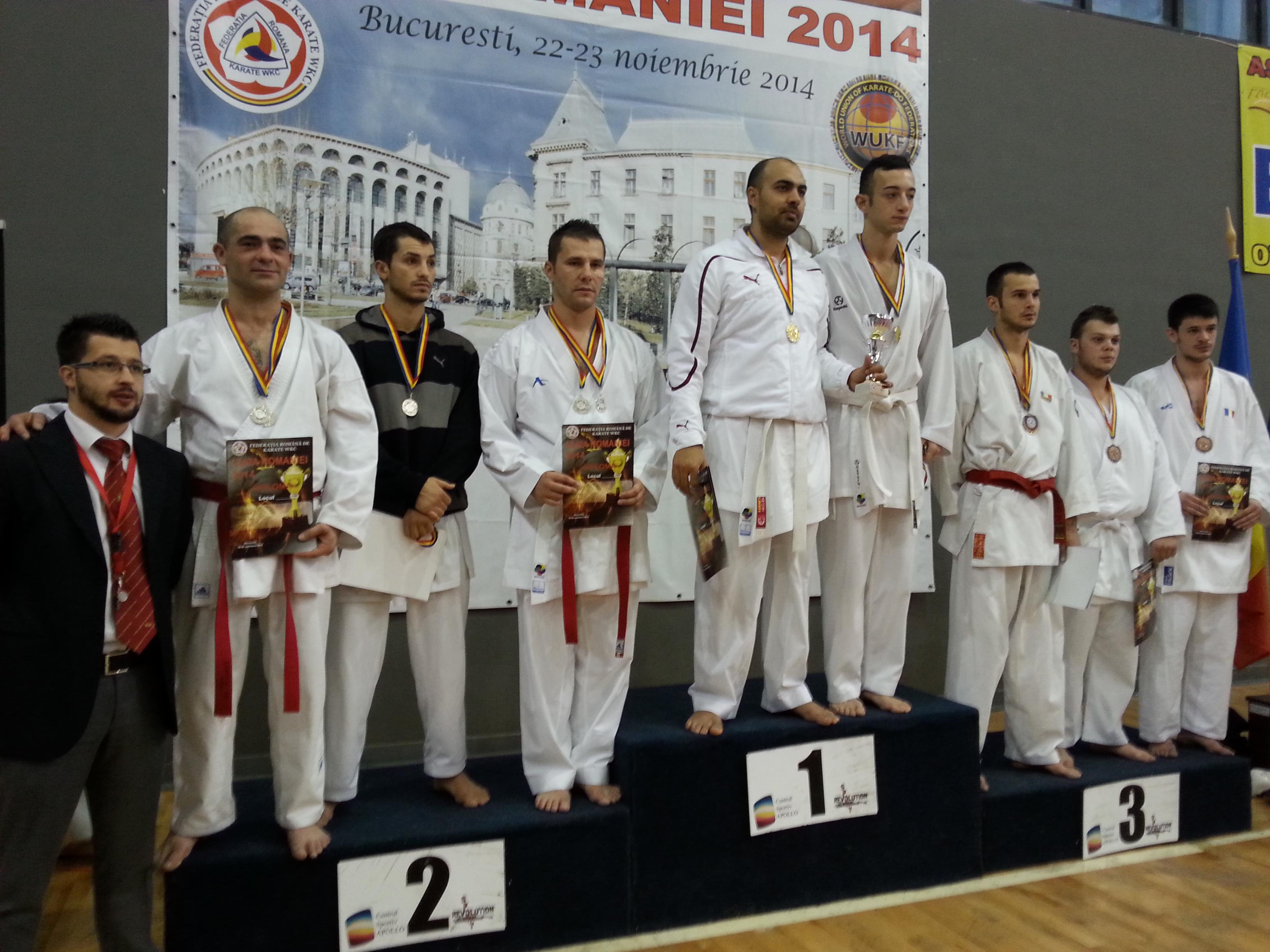 Vezi rezultatele obținute de CSM Satu Mare la Cupa României la Karate WKC