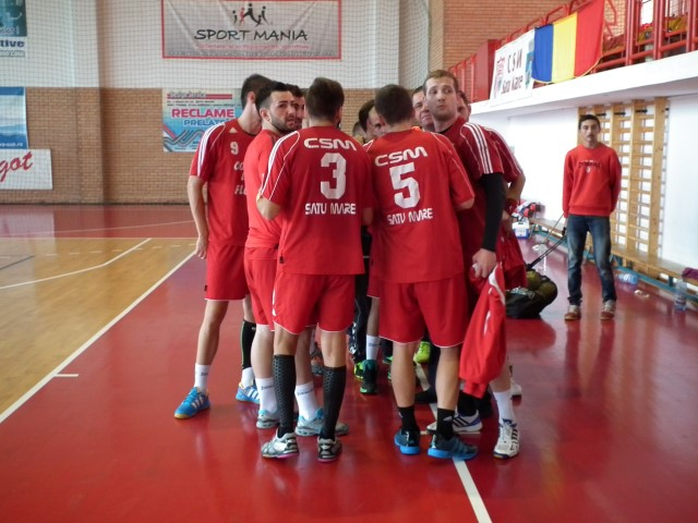Handbal: Național Sighișoara-CSM Satu Mare 34-42