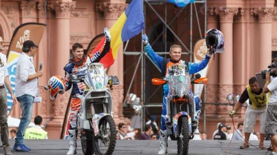 Satmareanul Mani Gyenes start în prima etapă din Dakar 2015
