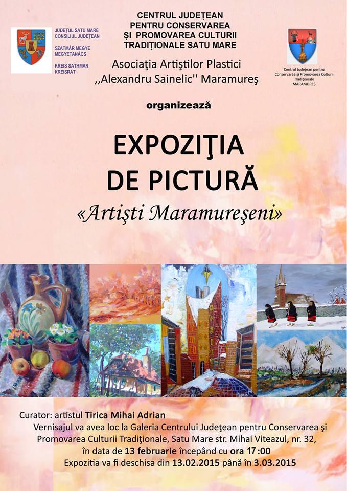 Expoziție de pictură la Centrul de Creație din Satu Mare