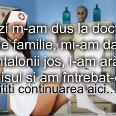 Bancul zilei :) La doctorita de familie…