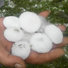 Imagini apocaliptice difuzate de ANTENA3 cu furtuna de ieri din Satu Mare