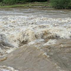 Satu Mare: 20 de persoane evacuate, printre care 7 copii. Cota de pericol a râului Crasna, depăşită