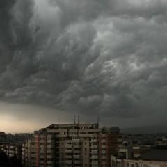 Avertizare meteo: pericol de vijelii si grindina la Satu Mare