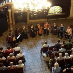 Concert de exceptie al ansamblului Kájoni Consort din Baraolt la Castelul din Carei