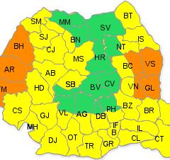 Avertizare meteo: Cod galben la Satu Mare. Vedeti cat va mai tine canicula