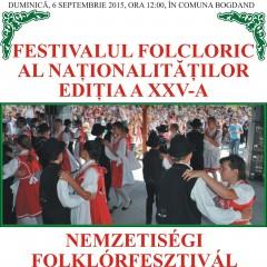 """""""Festivalul Folcloric al Nationalitatilor"""" din Bogdand la cea de-a XXV-a editie"""