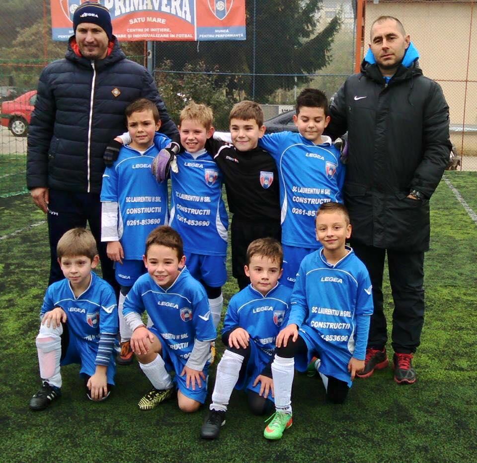 La Satu Mare se va desfasura un important turneu de  fotbal  pentru copiii nascuti in 2007