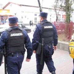 Conflict aplanat de polițiști și jandarmi în comuna Vama