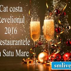 Cat costa Revelionul la restaurantele din Satu Mare