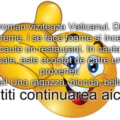 Bancul zilei :) Un roman la Vatican…