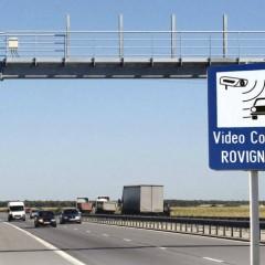 Atenție șoferi! Unde sunt amplasate camerele video care verifică valabilitatea ROVINIETEI