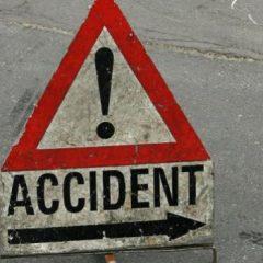 Accident frontal pe drumul din localitatea Draguseni