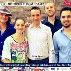 Concertul susținut de Luiza Zan & The Hungarian All Stars la Carei
