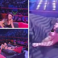 VIDEO de necrezut! Doi wrestleri americani, SEX LIVE pe ringul de la WWE