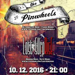 Concert The Pinwheels si Lost Surprise la Satu Mare