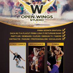 Open Wings Studio va invita la cel mai cool si profesionist studio de dans din Satu Mare