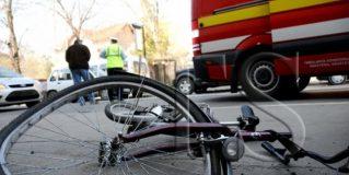 Un biciclist de 69 de ani a fost grav rănit în urma unui accident rutier produs în municipiul Satu Mare