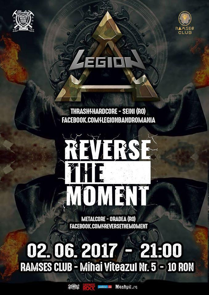 Concert Legion si Reverse The Moment la Satu Mare