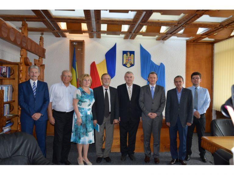 Ambasadorul Republicii Belarus în România, s-a aflat vineri în  Satu Mare