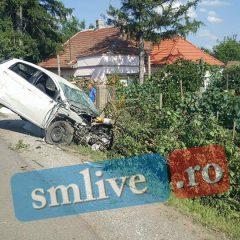 Accident straniu in Beltiug! GALERIE FOTO