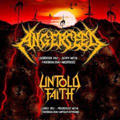 Concert Angerseed si Untold Faith la Satu Mare