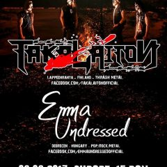 Seara de Thrash Metal Finlandez si Rock Alternativ la Satu Mare