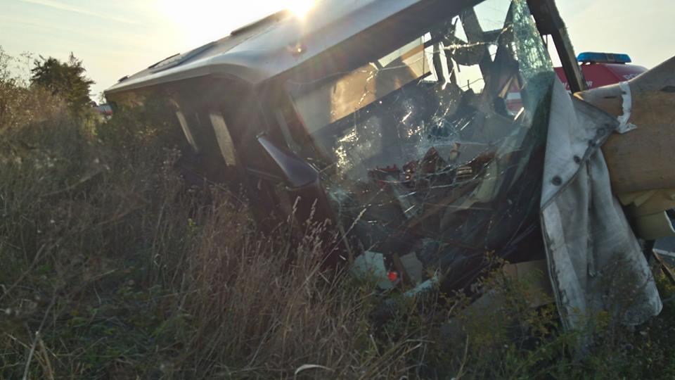 Accident cu 13 raniti pe soselele judetului Satu Mare