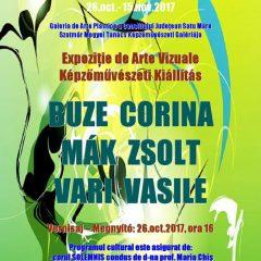 Expoziție de arte vizuale la Consiliul Județean Satu Mare