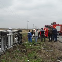 Accident rutier cu trei victime intre Odoreu si Babasesti