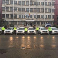 Parcul auto al Inspectoratul de Poliție al Județului Satu Mare a fost suplimentat cu 7 autospeciale marca Dacia Logan