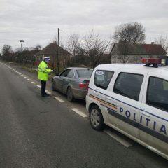 Un bărbat s-a ales cu dosar penal după ce a fost prins în Halmeu, conducând cu permisul suspendat