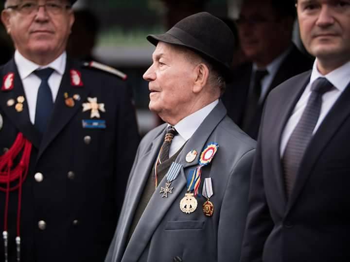 Colonelul în retragere Bucur Neculai, ultimul veteran de război POMPIER din România, ne-a părăsit la vârsta de 95 de ani