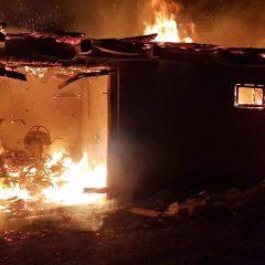 Incendiu la o casă de locuit din Livada