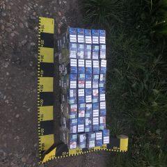 Peste 400 de pachete de țigarete confiscate de polițiștii Serviciului Rutier Satu Mare