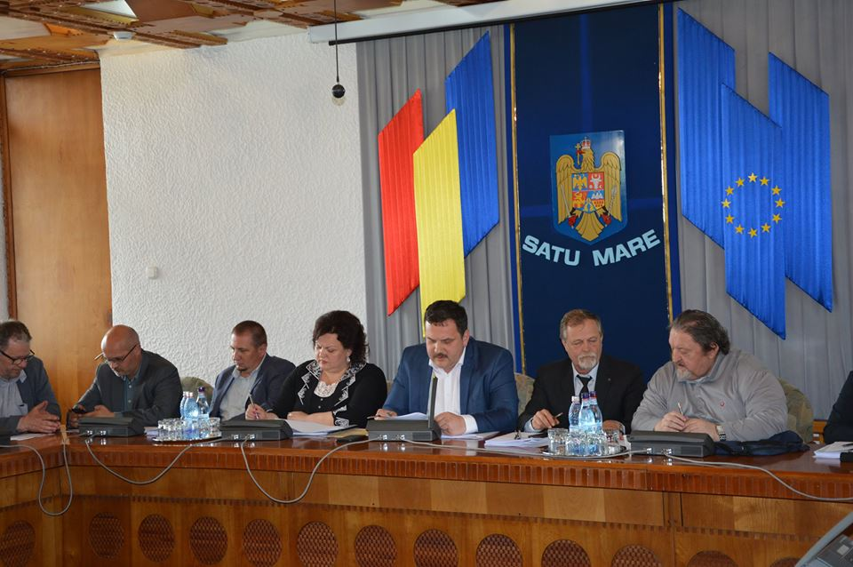 Delegație din Republica Estonia, la Consiliul Județean