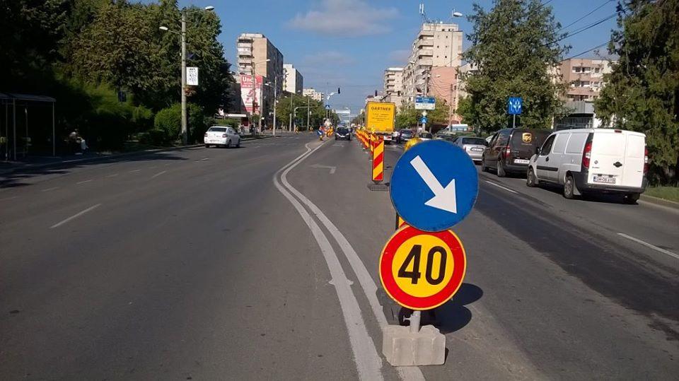 Restrictii de circulatie in Satu Mare . Se inchide  o strada foarte  circulata